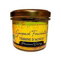 Terrine d'agneau Pommes Curry